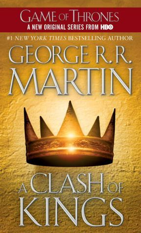 The Iron Throne once united the Sunset Lands, but King Robert is dead, his widow is a traitor to his memory, and his surviving brothers are set on a path of war amongst themselves. At King's Landing, the head of Lord Eddard Stark rots on a spike for all to see. His daughter Sansa is betrothed still to his killer's son Joffrey - Queen Cersei's son, though not the son of her late husband Robert. Even so, Joffrey is now a boy-king, Cersei is his regent, and war is inevitable. The first rule of war is never give the enemy his wish. But winter will be the biggest enemy. From beyond the Wall the undead and Others clamour for freedom, and from beyond the sea the long-dead Dragon King's daughter hatches her revenge. Robb Stark will be exceedingly lucky to reach adulthood.