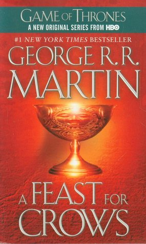 Few books have captivated the imagination and won the devotion and praise of readers and critics everywhere as has George R. R. Martin's monumental epic cycle of high fantasy. Now, in A Feast for Crows, Martin delivers the long-awaited fourth book of his landmark series, as a kingdom torn asunder finds itself at last on the brink of peace...only to be launched on an even more terrifying course of destruction.A Feast for CrowsIt seems too good to be true. After centuries of bitter strife and fatal treachery, the seven powers dividing the land have decimated one another into an uneasy truce. Or so it appears....With the death of the monstrous King Joffrey, Cersei is ruling as regent in King's Landing. Robb Stark's demise has broken the back of the Northern rebels, and his siblings are scattered throughout the kingdom like seeds on barren soil. Few legitimate claims to the once desperately sought Iron Throne still exist—or they are held in hands too weak or too distant to wield them effectively. The war, which raged out of control for so long, has burned itself out. But as in the aftermath of any climactic struggle, it is not long before the survivors, outlaws, renegades, and carrion eaters start to gather, picking over the bones of the dead and fighting for the spoils of the soon-to-be dead. Now in the Seven Kingdoms, as the human crows assemble over a banquet of ashes, daring new plots and dangerous new alliances are formed, while surprising faces—some familiar, others only just appearing—are seen emerging from an ominous twilight of past struggles and chaos to take up the challenges ahead. It is a time when the wise and the ambitious, the deceitful and the strong will acquire the skills, the power, and the magic to survive the stark and terrible times that lie before them. It is a time for nobles and commoners, soldiers and sorcerers, assassins and sages to come together and stake their fortunes...and their lives. For at a feast for crows, many are the guests—but only a few are the survivors.From the Hardcover edition.