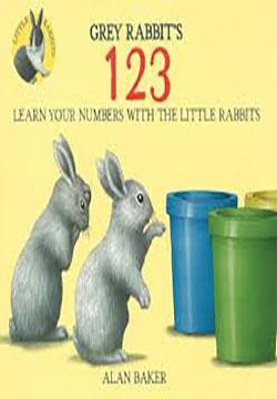 Little Rabbits: Gray Rabbits 123