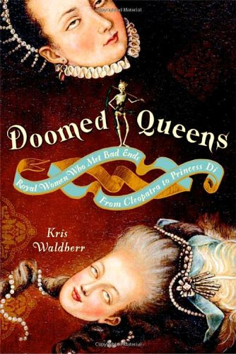 Illicit love, madness, betrayal--it isn't always good to be the queenMarie Antoinette, Anne Boleyn, and Mary, Queen of Scots. What did they have in common? For a while they were crowned in gold, cosseted in silk, and flattered by courtiers. But in the end, they spent long nights in dark prison towers and were marched to the scaffold where they surrendered their heads to the executioner. And they are hardly alone in their undignified demises. Throughout history, royal women have had a distressing way of meeting bad ends--dying of starvation, being burned at the stake, or expiring in childbirth while trying desperately to produce an heir. They always had to be on their toes and all too often even devious plotting, miraculous pregnancies, and selling out their sisters was not enough to keep them from forcible consignment to religious orders. From Cleopatra (suicide by asp), to Princess Caroline (suspiciously poisoned on her coronation day), there's a gory downside to being blue-blooded when you lack a Y chromosome. Kris Waldherr's elegant little book is a chronicle of the trials and tribulations of queens across the ages, a quirky, funny, utterly macabre tribute to the dark side of female empowerment. Over the course of fifty irresistibly illustrated and too-brief lives, Doomed Queens charts centuries of regal backstabbing and intrigue. We meet well-known figures like Catherine of Aragon, whose happy marriage to Henry VIII ended prematurely when it became clear that she was a starter wife--the first of six. And we meet forgotten queens like Amalasuntha, the notoriously literate Ostrogoth princess who overreached politically and was strangled in her bath. While their ends were bleak, these queens did not die without purpose. Their unfortunate lives are colorful cautionary tales for today's would-be power brokers--a legacy of worldly and womanly wisdom gathered one spectacular regal ruin at a time.