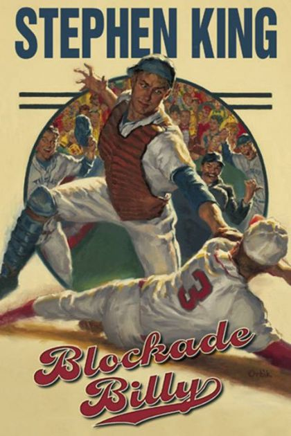 "From New York Times bestselling author Stephen King comes the haunting story of Blockade Billy, the greatest Major League baseball player to be erased from the game. Even the most die-hard baseball fans don't know the true story of William ""Blockade Billy"" Blakely. He may have been the greatest player the game has ever seen, but today no one remembers his name. He was the first--and only--player to have his existence completely removed from the record books. Even his team is long forgotten, barely a footnote in the game's history.Every effort was made to erase any evidence that William Blakely played professional baseball, and with good reason. Blockade Billy had a secret darker than any pill or injection that might cause a scandal in sports today. His secret was much, much worse... and only Stephen King, the most gifted storyteller of our age, can reveal the truth to the world, once and for all. Originally published through Cemetery Dance Publications on April 20, 2010 as a $25.00 limited-edition hardcover, Stephen King and Cemetery Dance have made an arrangement with Scribner to make available a less expensive hardcover edition of Blockade Billy, with an on-sale date of May 25th, the same date the audiobook goes on sale. The Scribner edition will be available in all U.S. and Canadian retail outlets. Both the Scribner book and the Simon & Schuster audiobook will feature a bonus short story (""Morality"")."